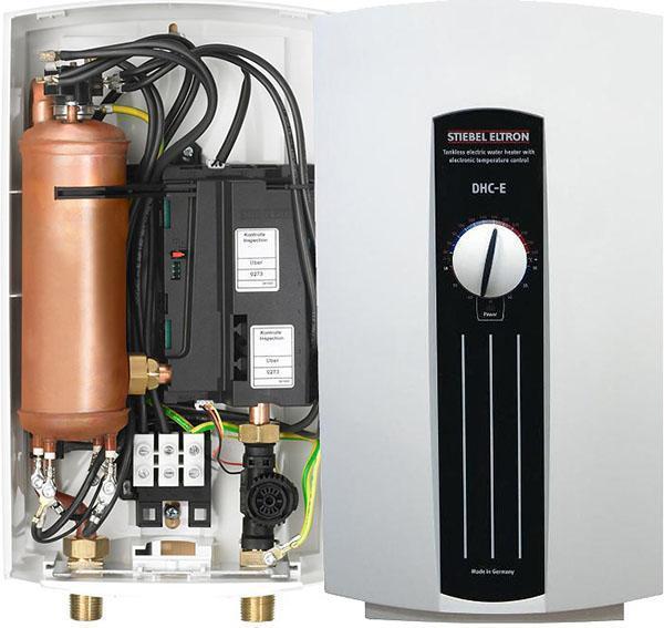 Внутреннее устройство одного из водонагревателей Stiebel Eltron