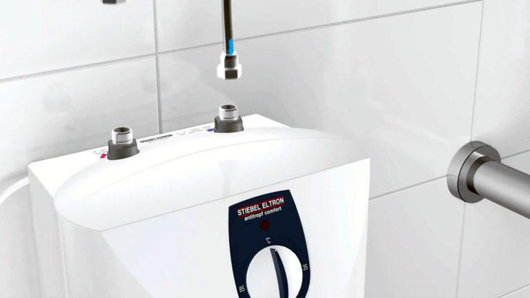 Как правильно установить водонагреватель на даче